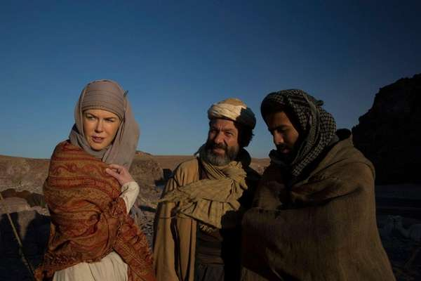 Nicole Kidman plays British writer Gertrude Bell in