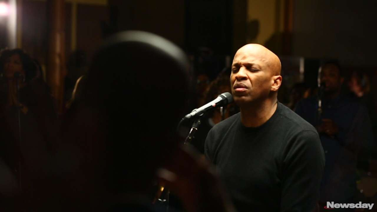 Gospel music star Donnie McClurkin, who is the