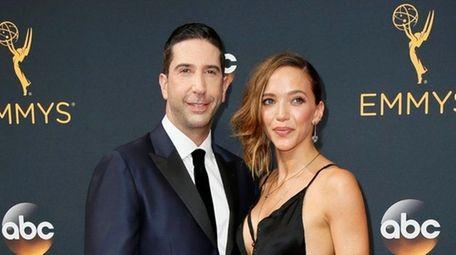 David Schwimmer and Zoë Buckman met in 2007.