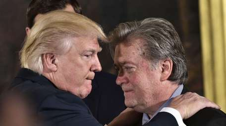 Steve Bannon, President Donald Trump's chief strategist and