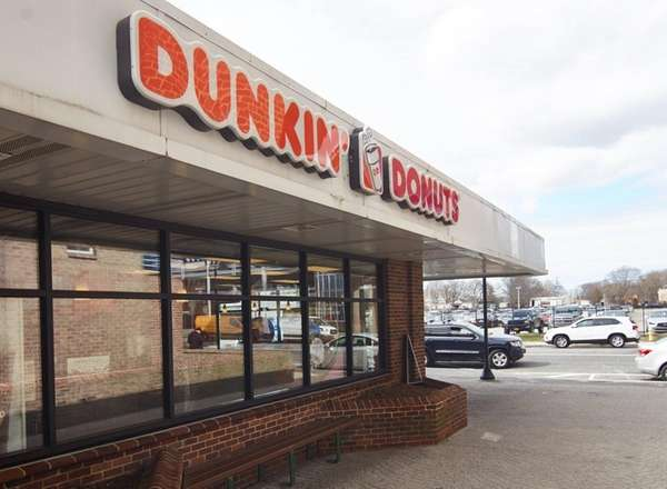 The Dunkin' Donuts at the Long Island Rail