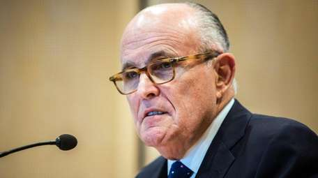 Former mayor Rudy Giuliani's efforts to free the