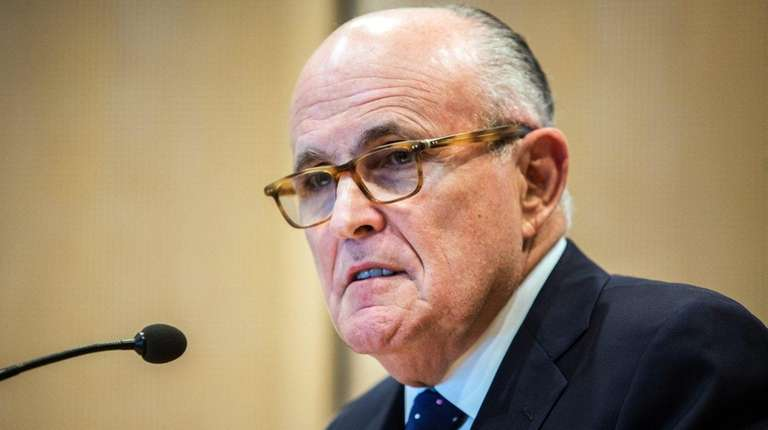 Former mayor Rudy Giuliani's efforts to free the