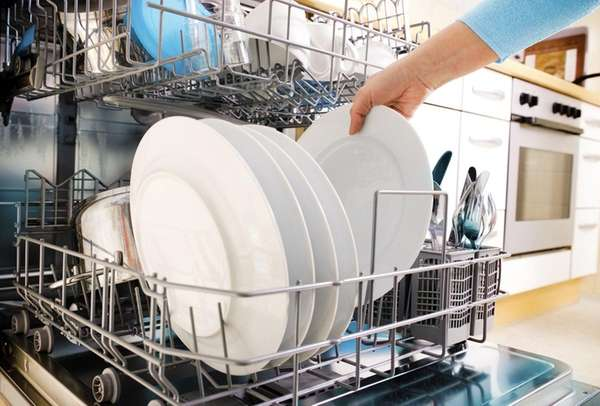 Some dishwashers have special features such as movable