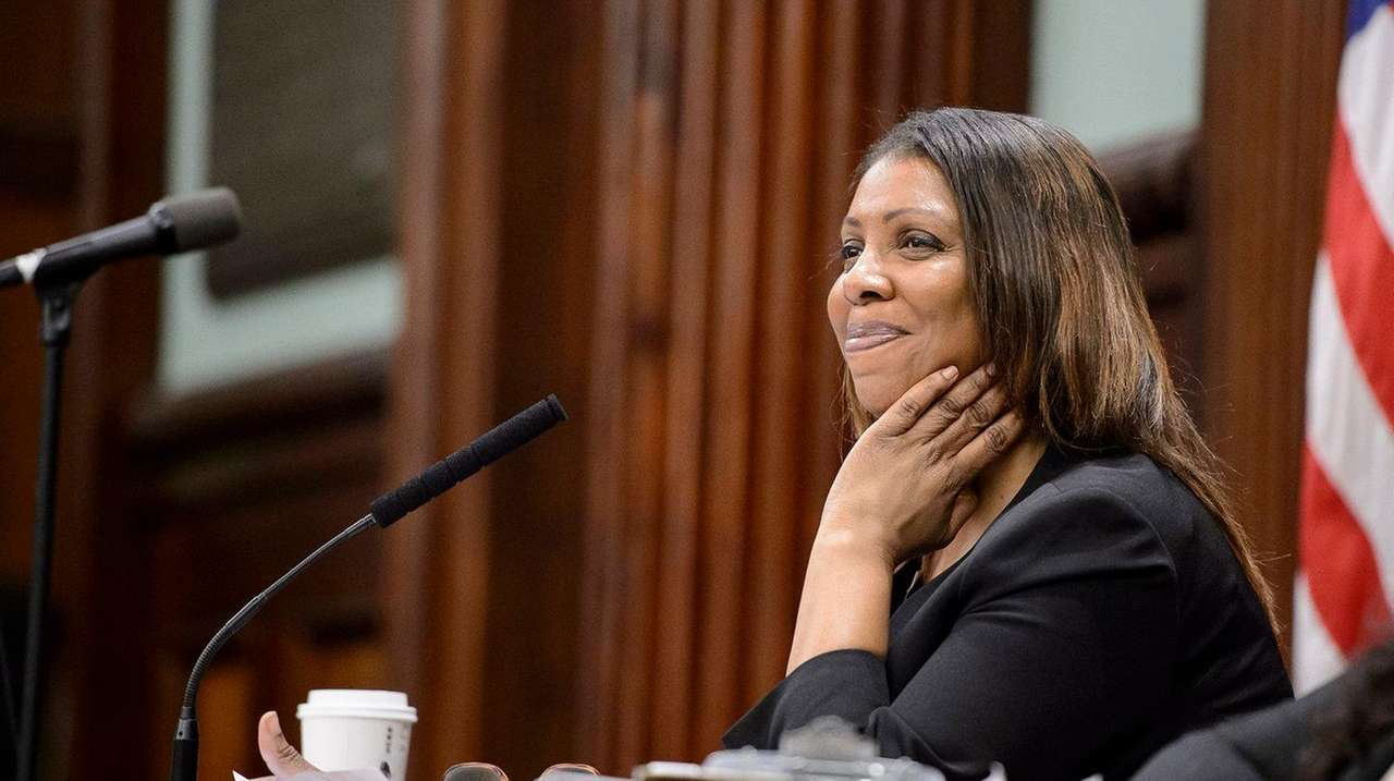 NYC Public Advocate Letitia James in the City