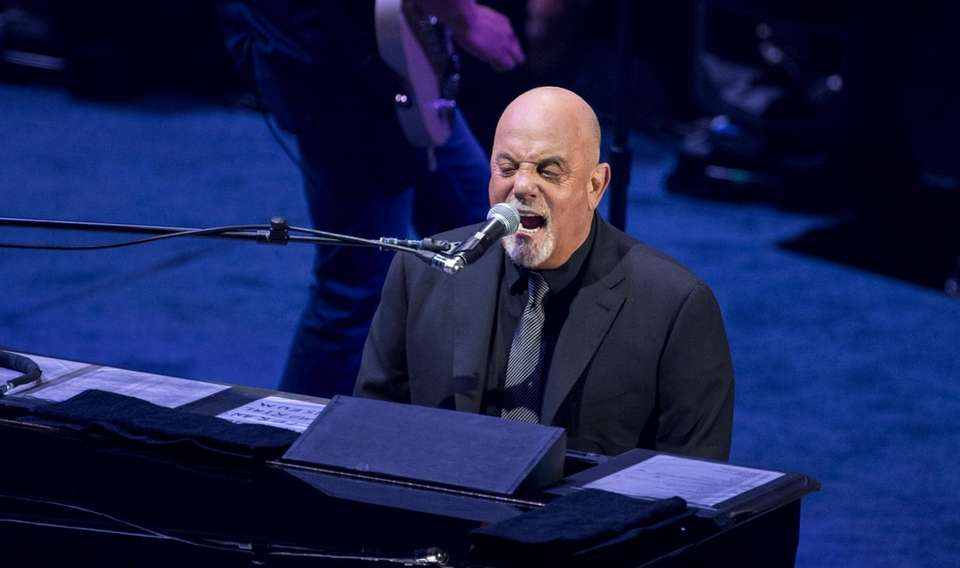 Billy Joel performs at opening night of the