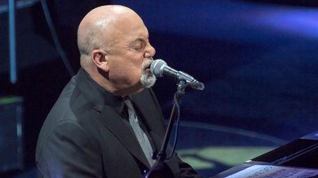 Billy Joel performs at opening night of NYCB