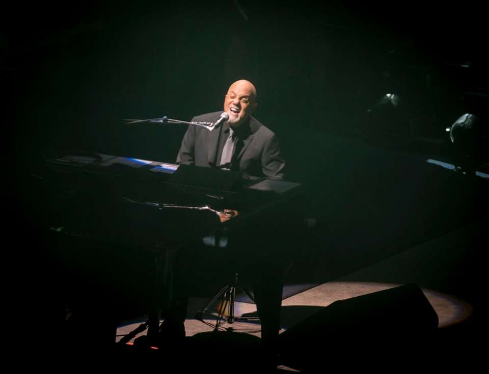 Billy Joel performs at NYCB Live's Nassau Veterans