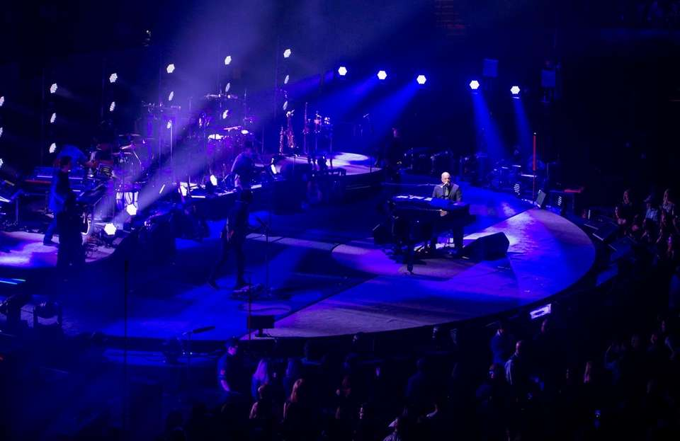 Billy Joel performs at NYCB Live's Nassau Veterans