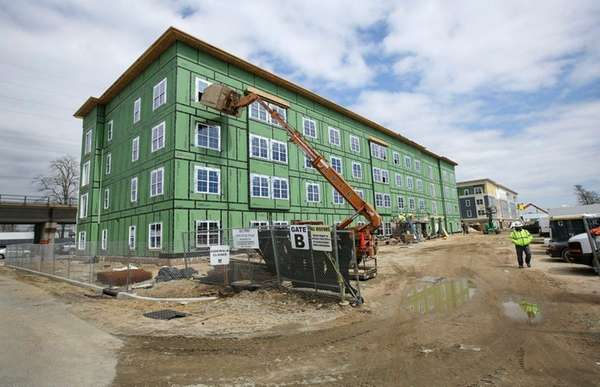 The developers of Copiague Commons held a lottery