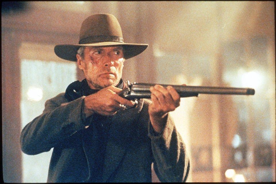 Cast: Clint Eastwood, Gene Hackman, Morgan Freeman, Richard
