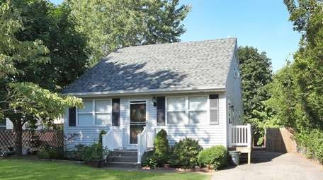 This East Patchogue cape, listed for $259,900 in