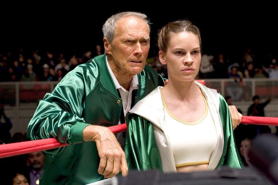Cast: Hilary Swank, Clint Eastwood, Morgan Freeman, Jay