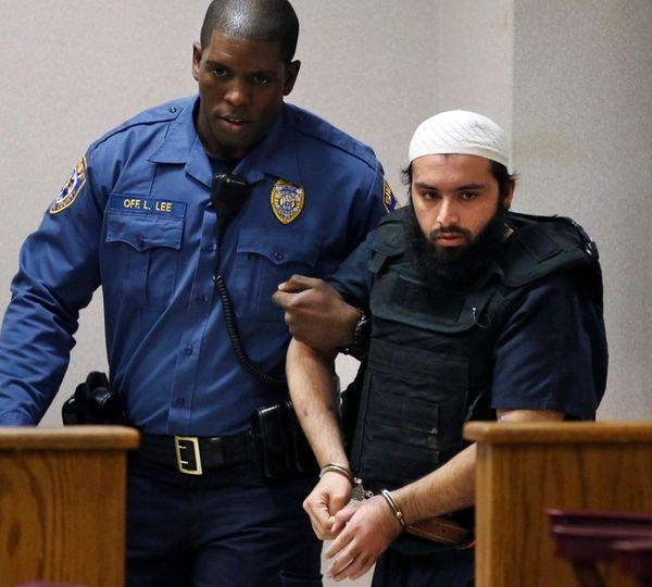 Ahmad Khan Rahimi, the man accused of setting
