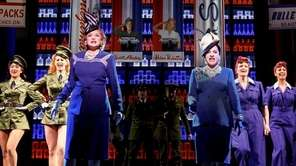 Christine Ebersole as Elizabeth Arden and Patti LuPone