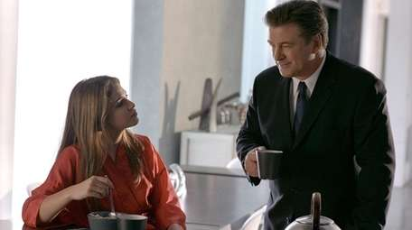Nikki Reed and Alec Baldwin in a