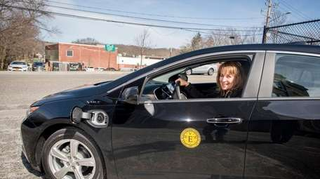 Terese Kinsley, Huntington's chief sustainability officer, with the