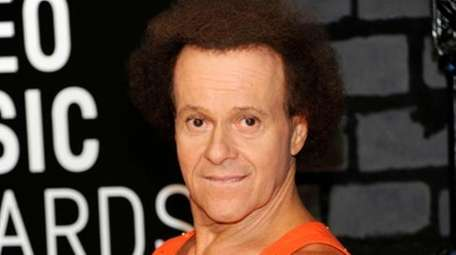 Richard Simmons posted a link to a newspaper
