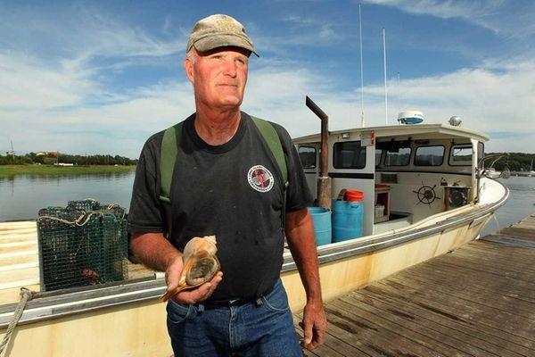 John German, president of the Long Island Lobstermen's