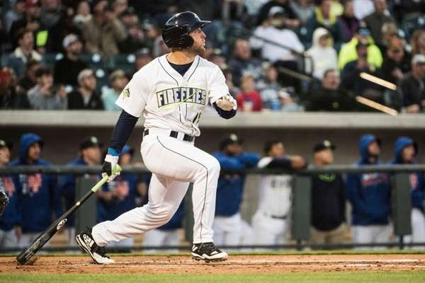 Columbia's Tim Tebow homers in his first at-bat