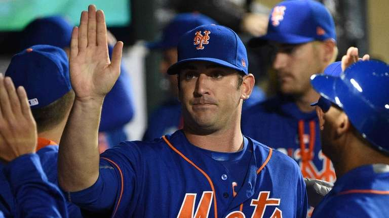 New York Mets starting pitcher Matt Harvey is