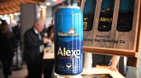 Alexa, a double IPA brewed by Oyster Bay