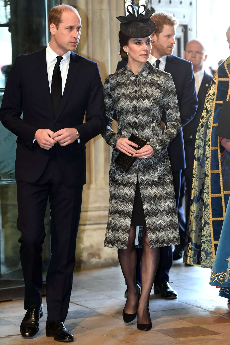 Prince William and Kate arrive at a
