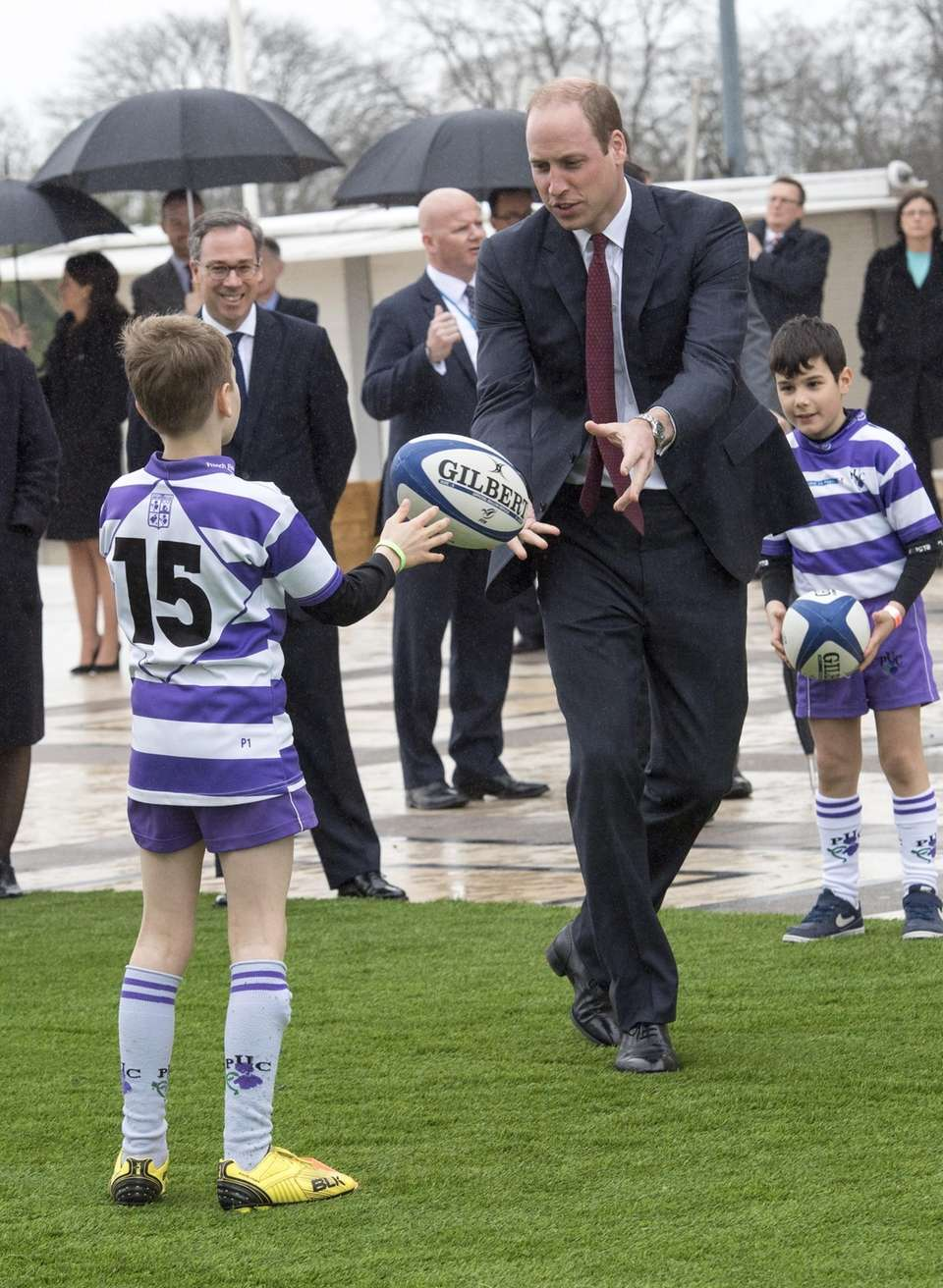 Prince William visits a