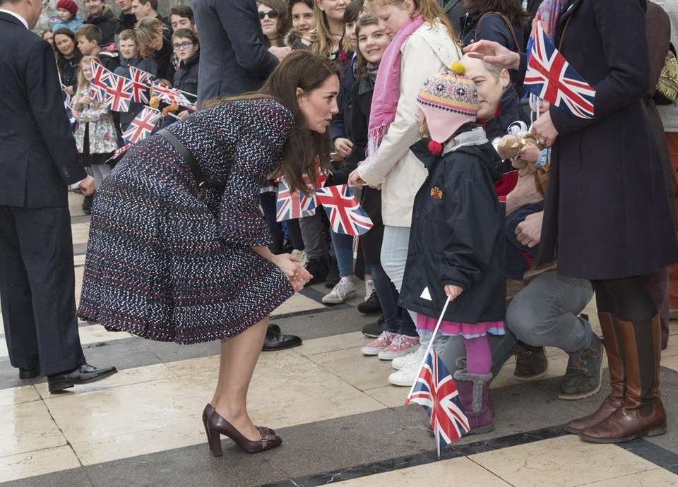 Catherine, Duchess of Cambridge, visits a