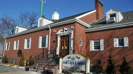 Exterior of East Rockaway's Village Hall, Jan. 8,