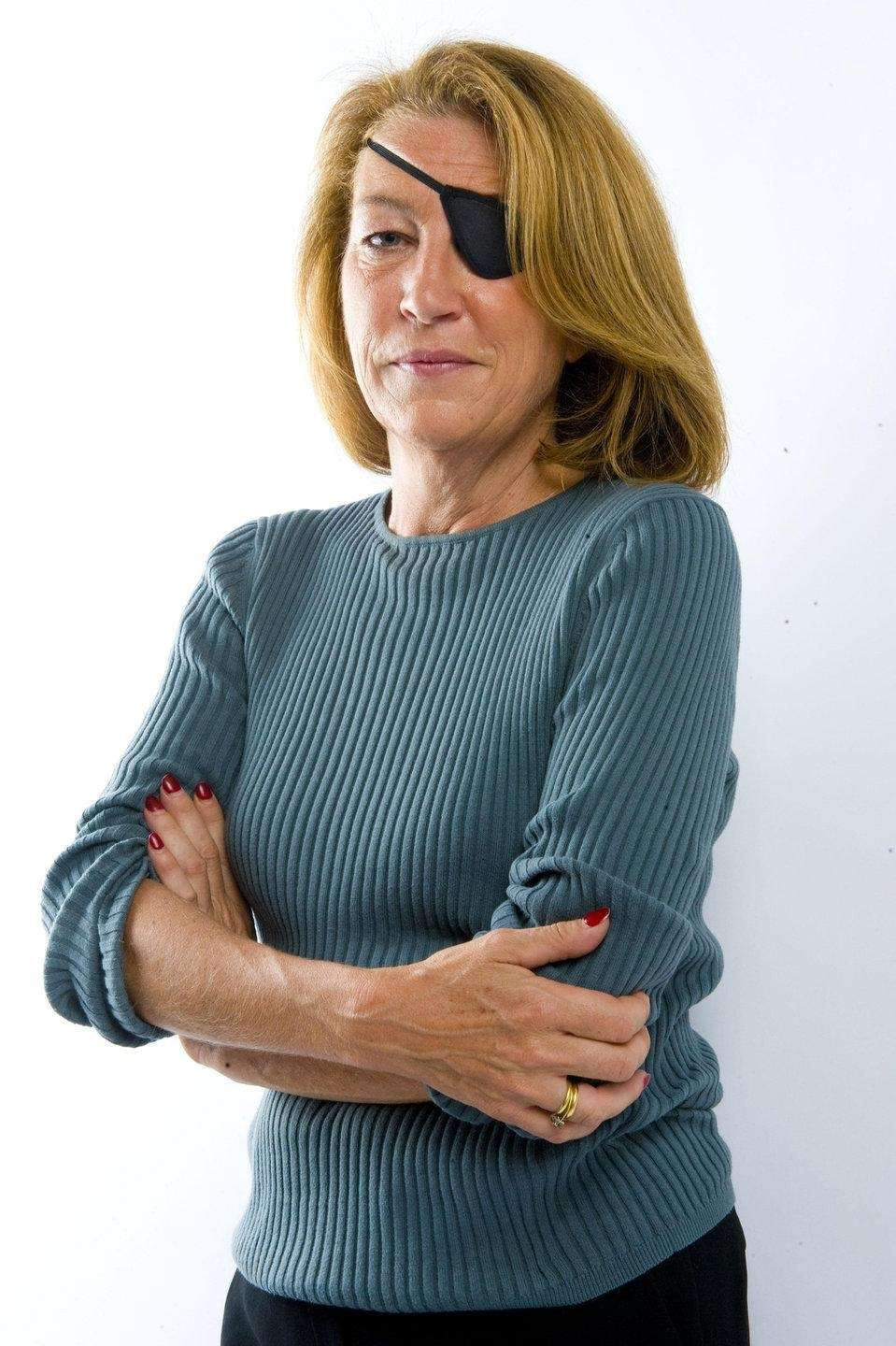 American journalist Marie Colvin, who earned international acclaim