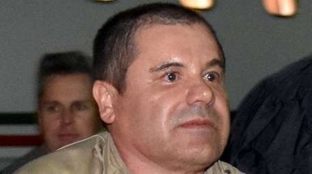 Authorities escort Joaquin