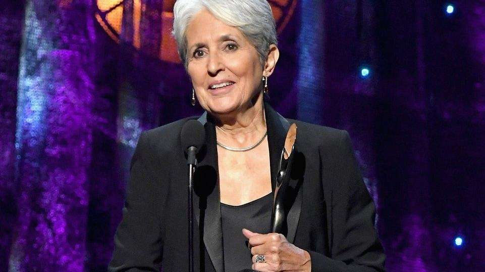 Joan Baez at Rock and Roll Hall of