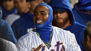 New York Mets left fielder Yoenis Cespedes is