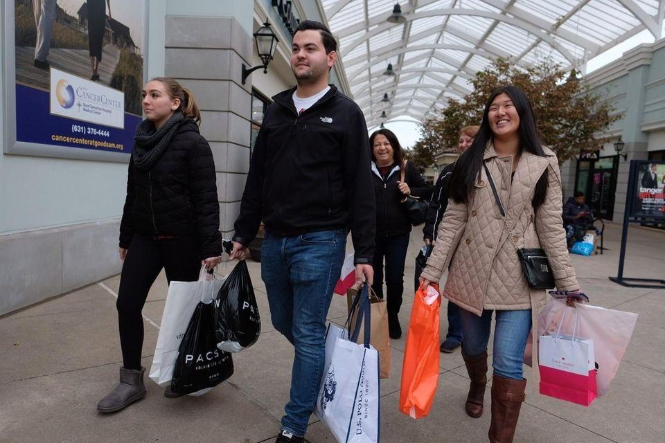For Long Islanders, shopping until you drop isn't