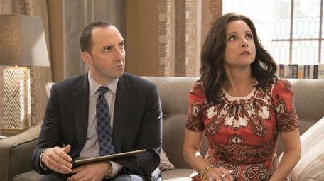 Tony Hale and Julia Louis-Dreyfus star in HBO's