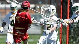 Chaminade's Patrick Kavanagh (1) shoots for the score