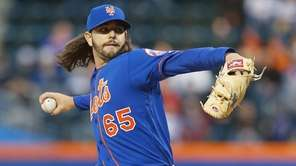Robert Gsellman, #65, of the New York Mets