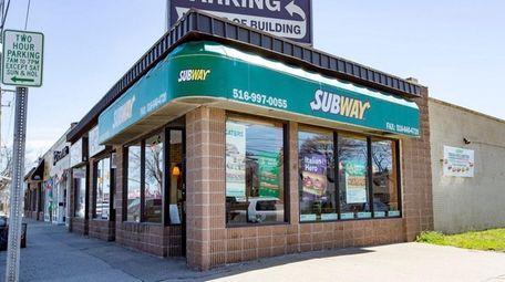 Nassau police said a robbery at a Subway