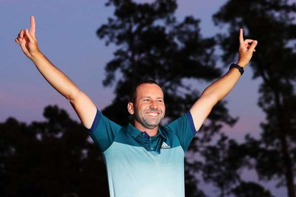Sergio Garcia hails 'special' win on Ballesteros' birthday