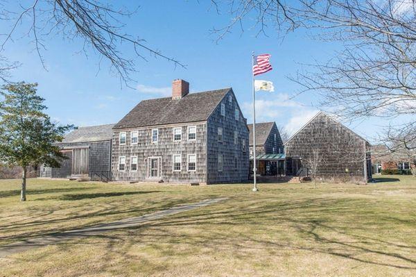 East Hampton Town Hall is shown on Feb.