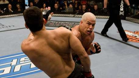 In his last fight in the UFC of