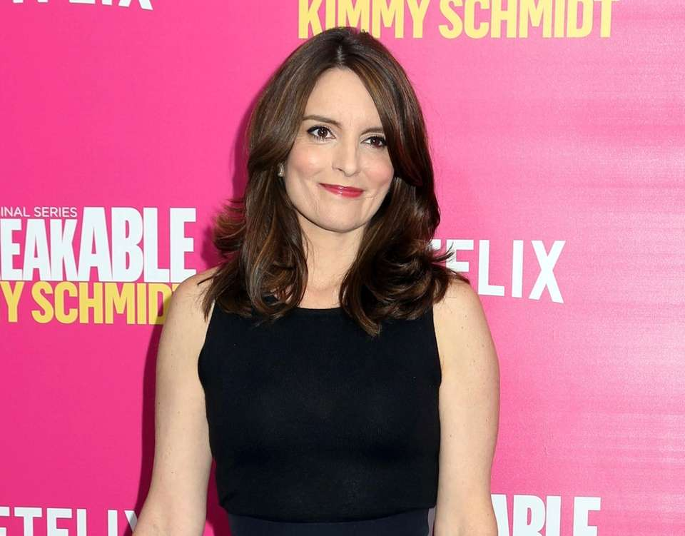 Actress, comedian, writer and producer Tina Fey was