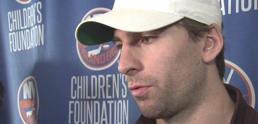 New York Islanders players said goodbye to their