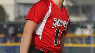 Courtney Greene of East Islip pitched her way