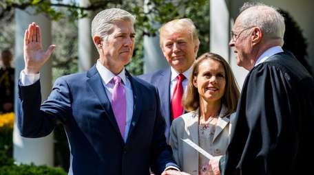 The Supreme Court's newest member, Neil M. Gorsuch