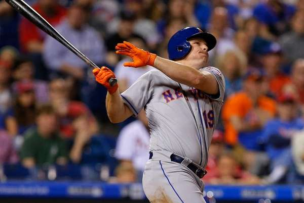 Jay Bruce #19 of the New York Mets