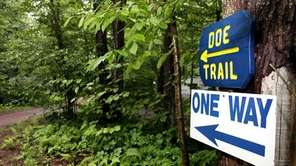 'Doe Trail' leads to the Schuler camp at