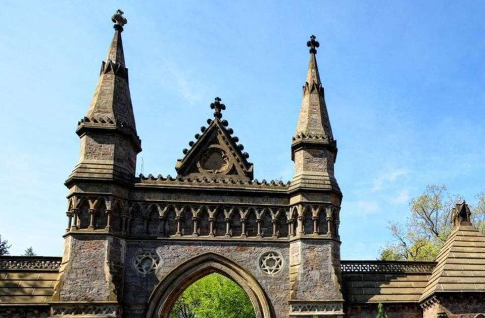 Forest Hills Cemetery is a historic cemetery, greenspace,