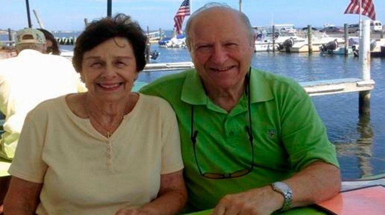 Irene and Roy Willis of Massapequa, who met